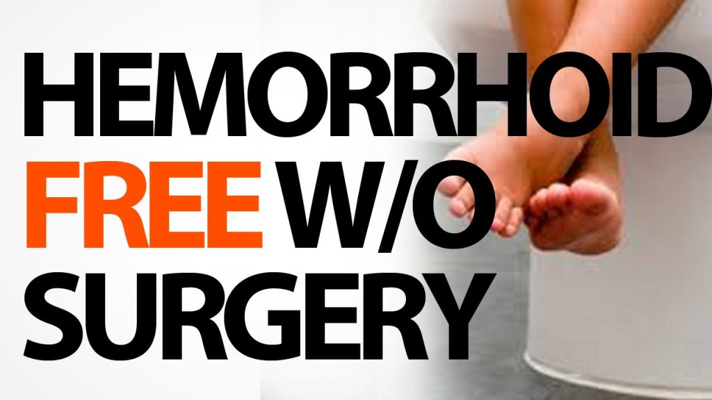hemorrhoid free with out surgery